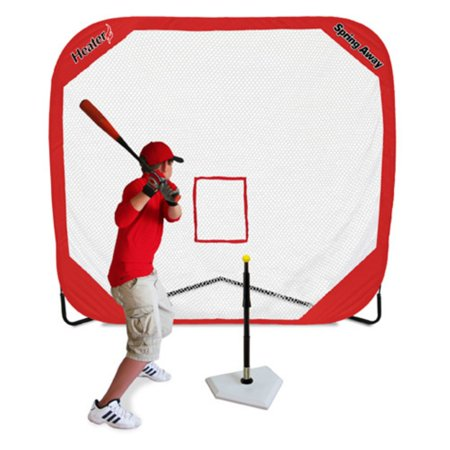 Heater Sports Spring Away Tee and Pop-Up Net (Up Sports)