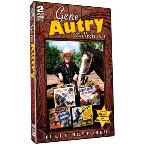 Gene Autry Collection 1: Melody Trail / The Big Show / Boots And Saddles / Rhythm Of The Saddle