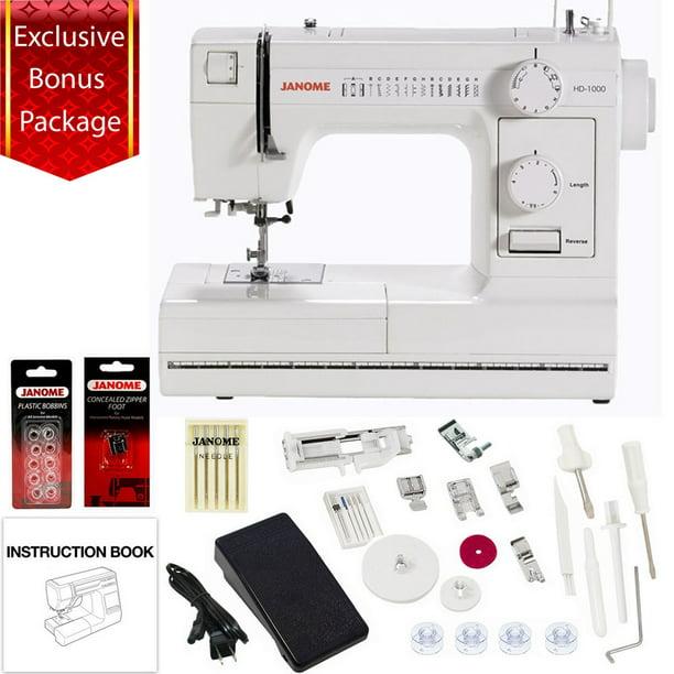 by Janome Janome HD1000 Mechanical Sewing Machine w// FREE BONUS Package