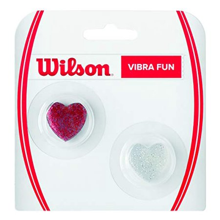 Wilson - WRZ537100 - Vibra Fun Vibration Dampener Glitter Hearts