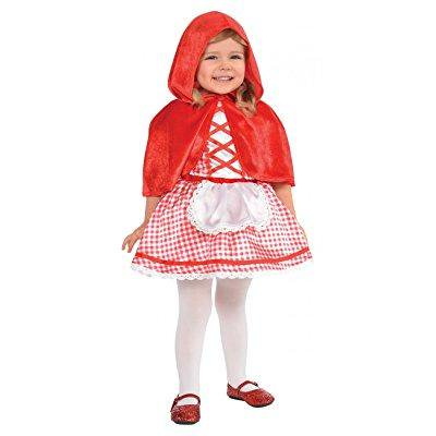lil red riding hood baby infant costume - newborn - Baby Red Riding Hood