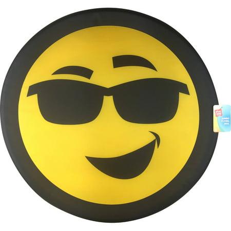 Play Day Jumbo Flying Disc Smiley Face Sunglasses Walmartcom