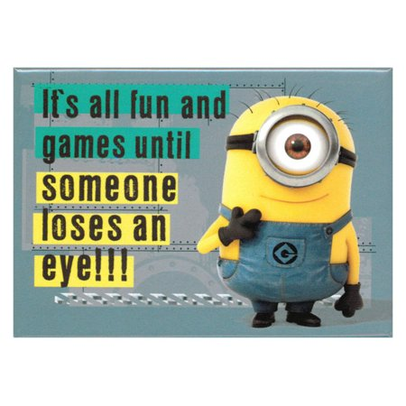 Despicable Me 2 All Fun And Games Magnet (Fun Magnets)