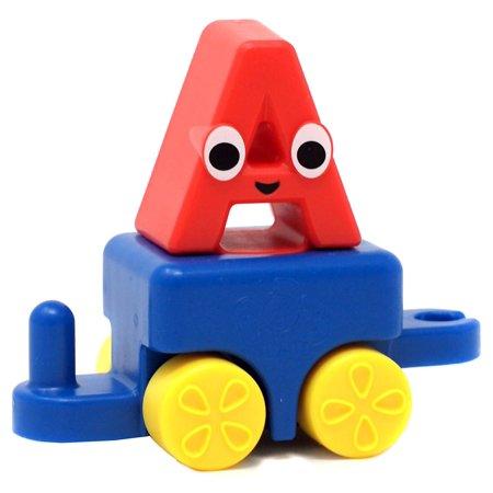 - Bob the Train Alphabet Adventures Mini Letter Train Car