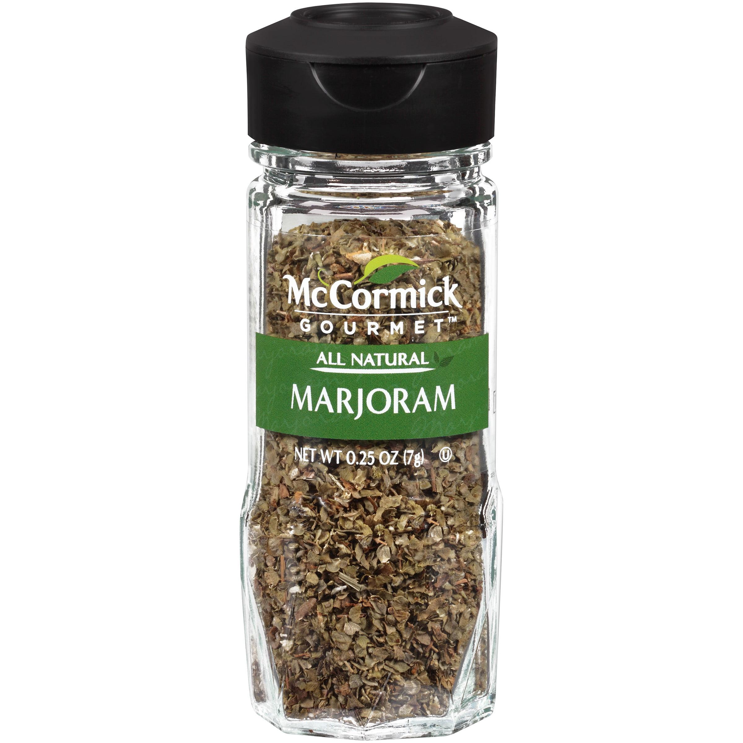 McCormick Gourmet™ All Natural Marjoram 0.25 oz. Shaker