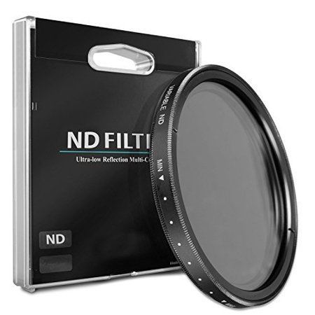 46mm ND Variable Neutral Density Filter for Panasonic 20mm f/1.7 II Aspherical Lens (Panasonic Nd Filter)
