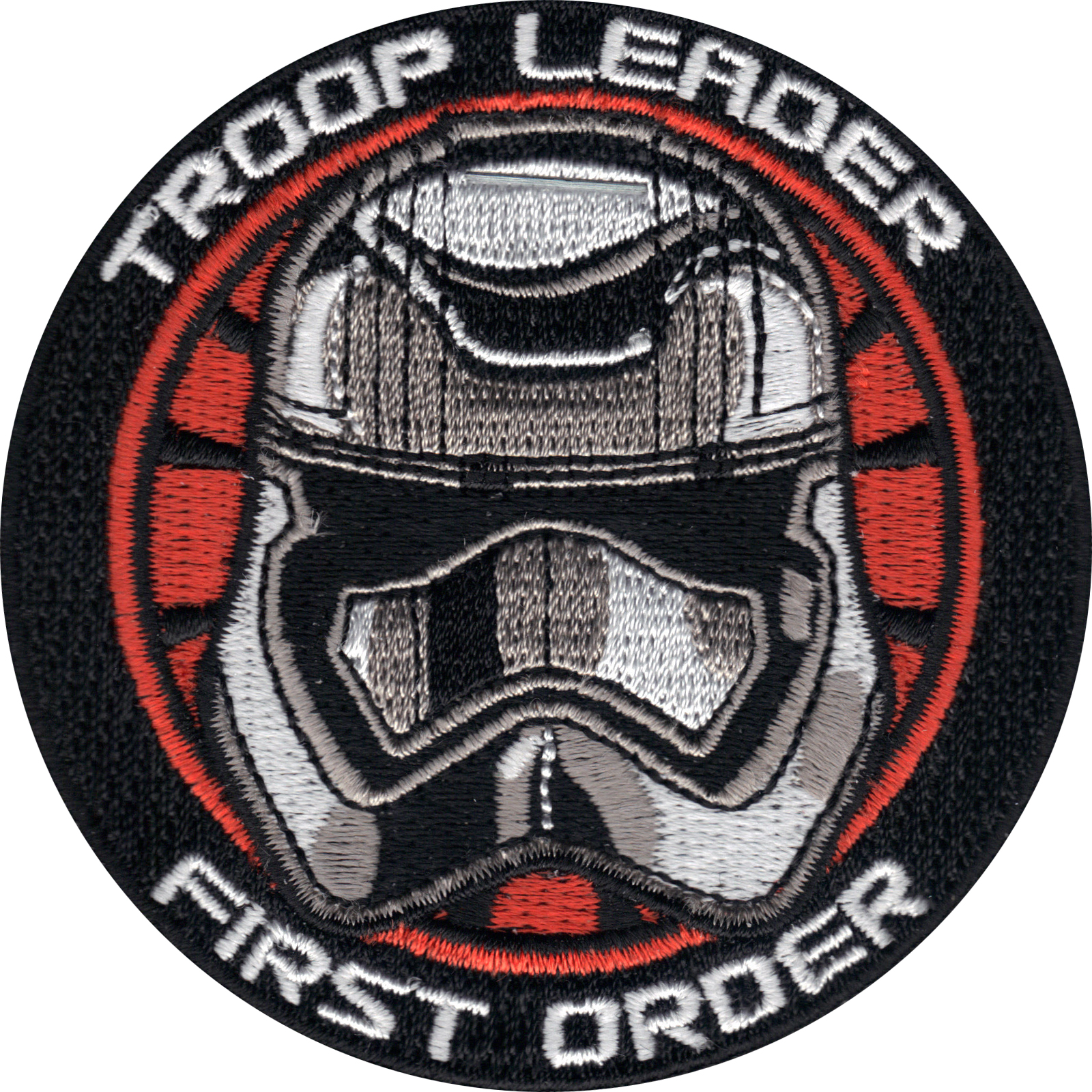 Star Wars 'Troop Leader' Captain Phasma Iron On Patch