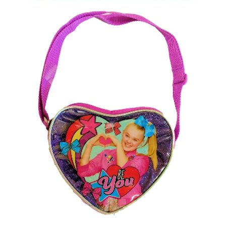 JoJo Siwa Heart Glitter Purse