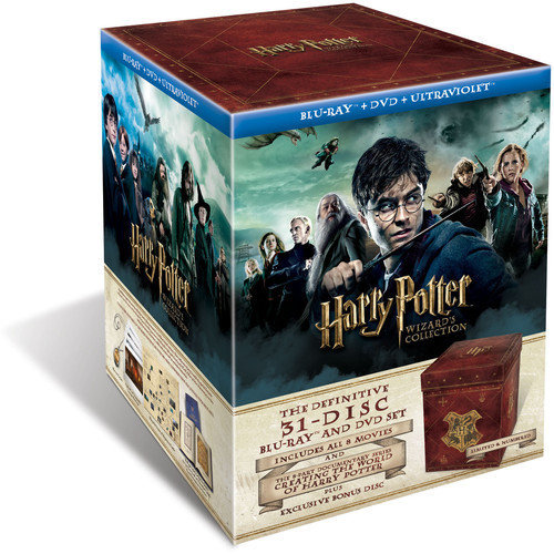 Harry Potter Wizard's Collection (Blu-ray   DVD   UltraViolet Digital Copy) (Widescreen)
