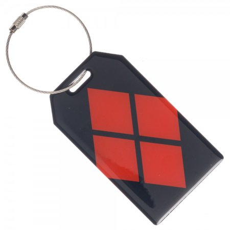 Luggage Tag - DC Comics - Harley Quinn Aluminum Bag New lu3081dco