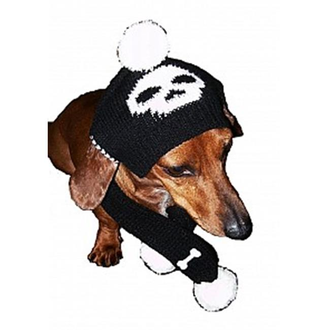 Dallas Dogs 2007-S Jolly Roger for Him Hat and Scarf, Small