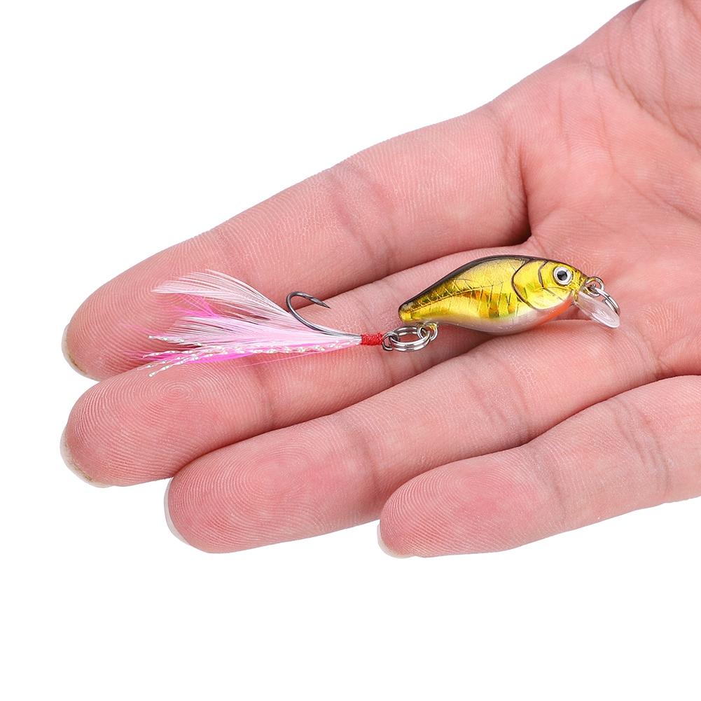 Details about  /Appât Leurres de Pêche Artificiel en Plastique avec les Yeux 3D Couleur