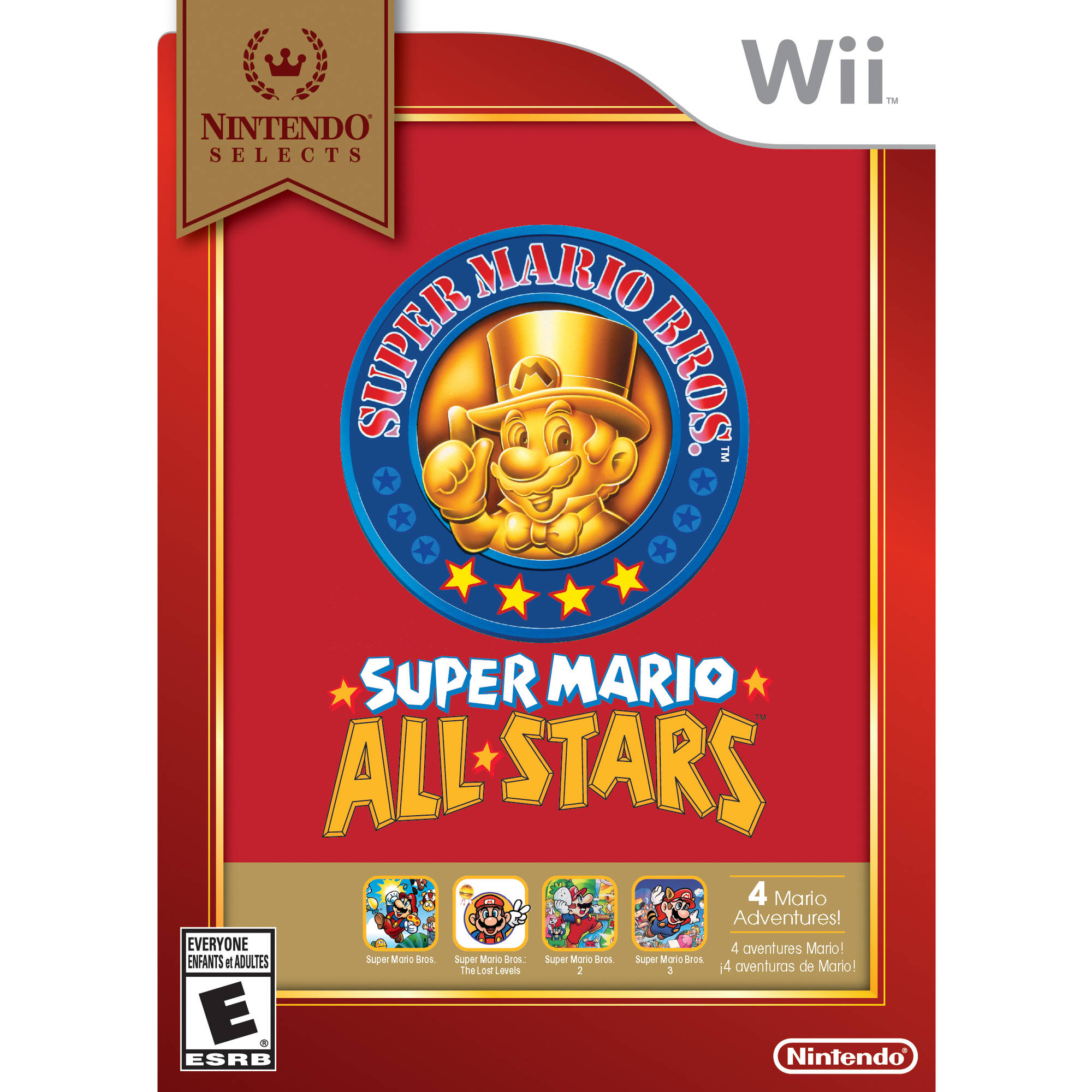 Super Mario All Stars - Nintendo Selects (Wii)
