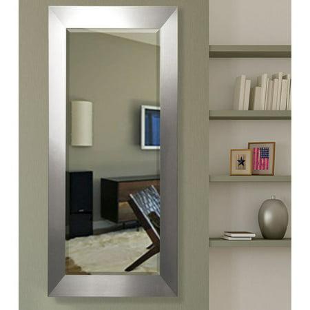 Rayne Mirrors American Made Rayne Oversized Silver Floor/ Vanity (Oversized Silver Mirror)