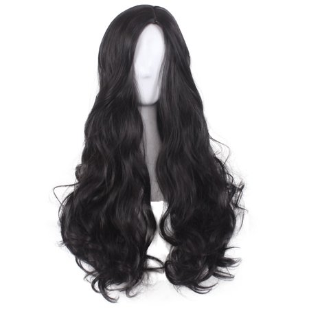 Long Curly Wavy Hair Wig Justice League Wonder Woman Diana Cosplay Party Costume - image 1 of 5