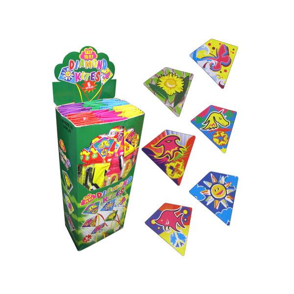 Diamond Kite Flyers Display (Pack Of 72) by Bulk Buys