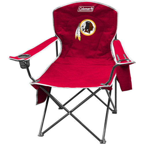 Coleman Quad Chair with 4- to 6-Can Cooler, Washington Redskins