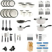 Gibson Home Essential Total Kitchen 83-Piece Combo Set Image 2 of 34
