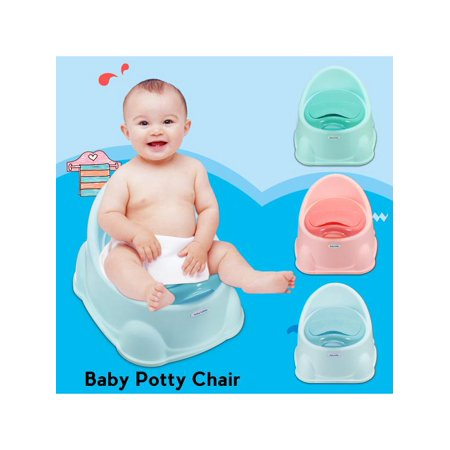 - 2-in-1 Kids Potty Training Seat & Step Stool Child Toddler Toilet Chair w/ Brush