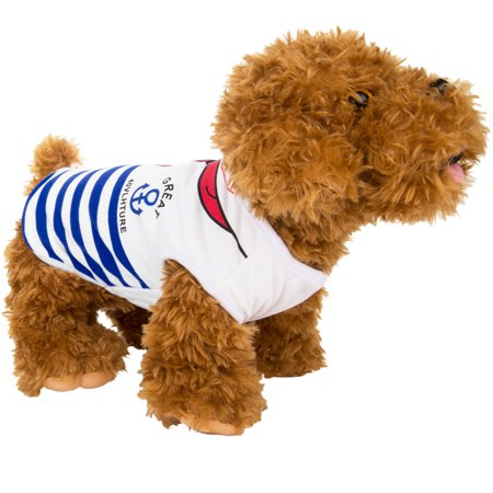 CUECUEPET Comfortable Cotton Sailor Sweater for Dogs/Puppies