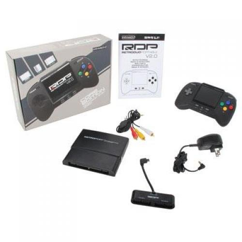 RDP - Console - Portable Handheld Console V2.0: CORE Edition - Black (Retro Bit)