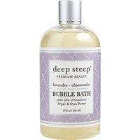 DEEP STEEP by Deep Steep LAVENDER-CHAMOMILE BUBBLE BATH 17 OZ
