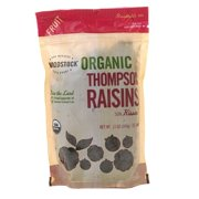 Woodstock Organic Thompson Raisins, 13.0 OZ