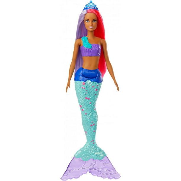 Barbie Dreamtopia Mermaid Doll, 12-Inch, Pink and Purple Hair