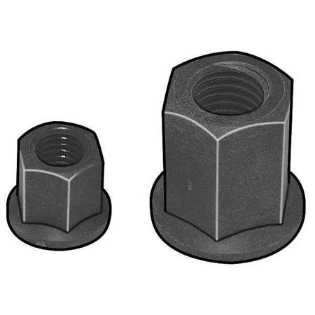 DYNAFORM 874370 Hex Nut, Flange, ISOPLAST, 3/4-10 UNC, Right