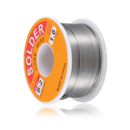 Heepo 0.5/0.6/0.8/1.0mm Rosin Core Solder 63/37 Tin Lead Line Welding Iron Wire Reel](rosin core solder for electronics)