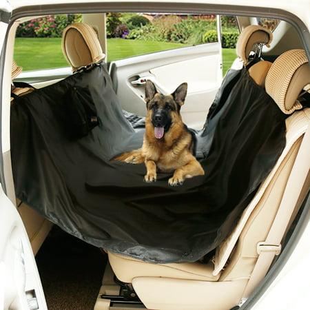Doglemi Authorized Travel Dog Car Rear Seat Protector Cover Blanket Mat  Black