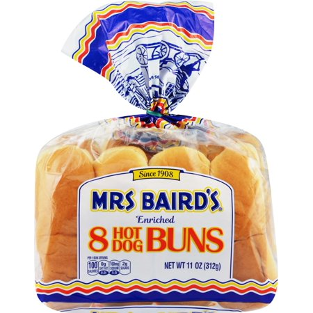 Mrs Baird S Hot Dog Buns