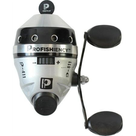Profishiency Spincast Reel 4 1 1 Gear Ratio 10lb Braid Line Walmart Com