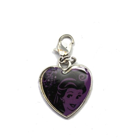 Disney's Beauty and the Beast Princess Belle Clip-On Heart Charm