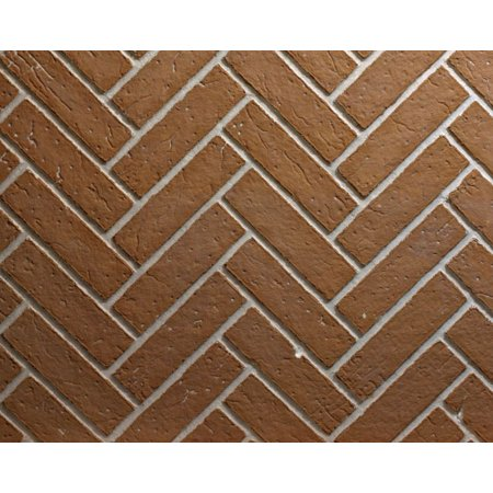 Ceramic Fiber Liner for Premium Fireplaces - Herringbone Brick