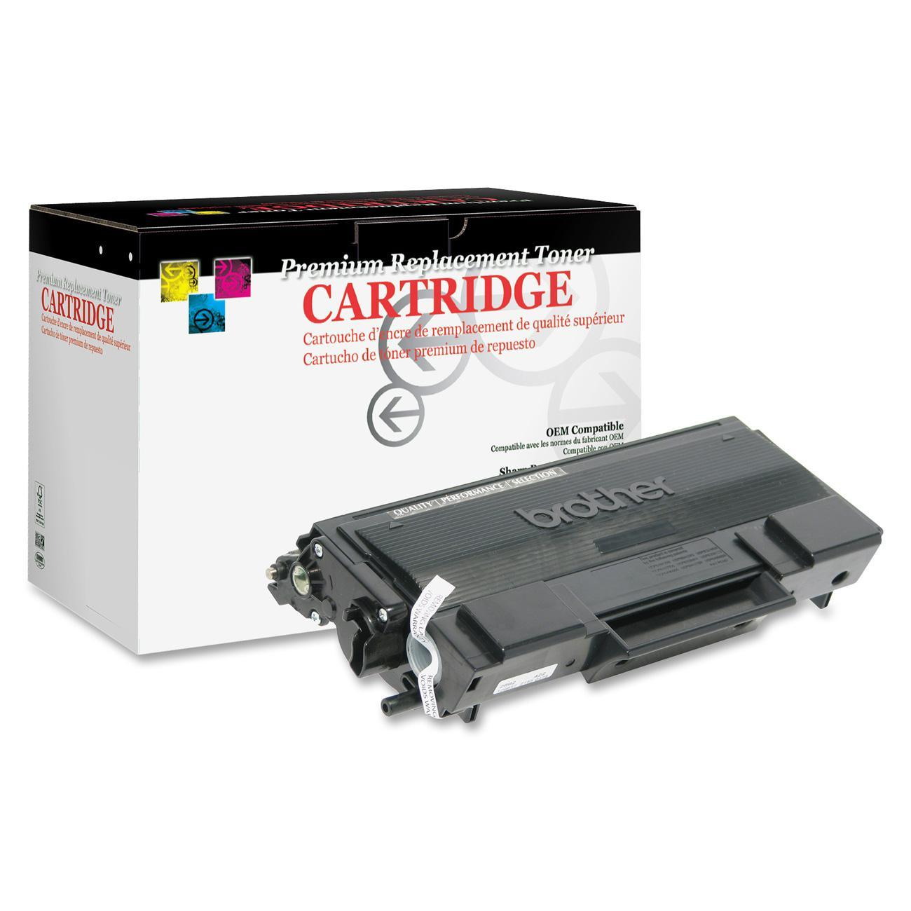 West Point, WPP200028P, West Point Remanufactured BRO TN650 Toner Cartridge, 1 Each