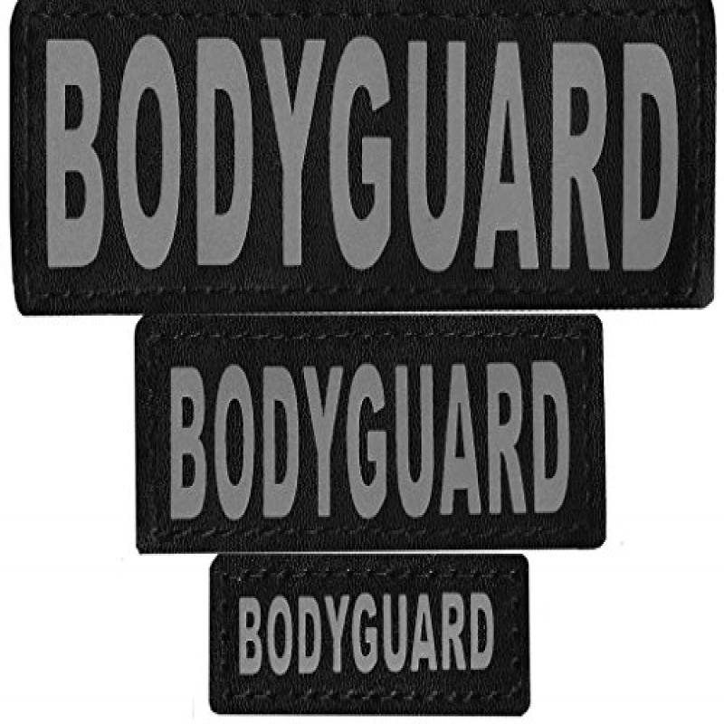 "Removable Velcro Patches ""BODYGUARD"""