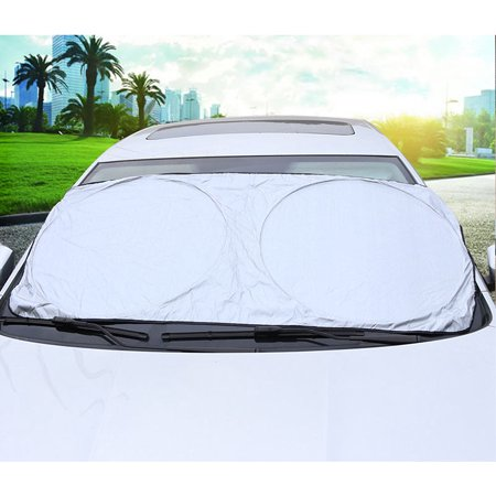 Fordawn Windshield Sun Shade - for Maximum UV and Sun Protection –Foldable Sunshade for car Windshield Will Keep Your car Cooler- Windshield Sunshade (Large) - image 2 de 9