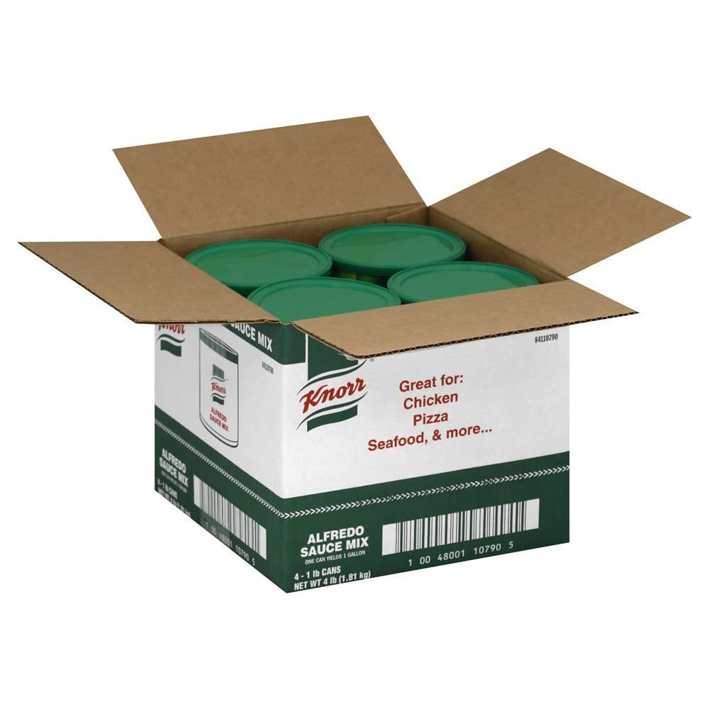 4 PACKS : Knorr Alfredo Sauce Mix, 1 Pound - 4 per pack -- 1 each.