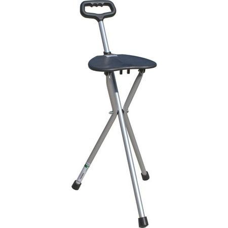 Sport Seat Cane (Essential Medical Supply Folding Seat Tri-Pod)