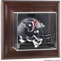 Mounted Memories NFL Wall Mounted Logo Mini Helmet Case