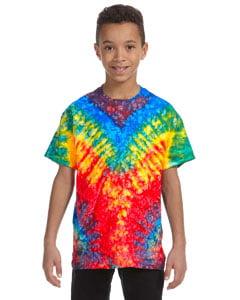 Tie-Dye Youth 5.4 oz. 100% Cotton T-Shirt