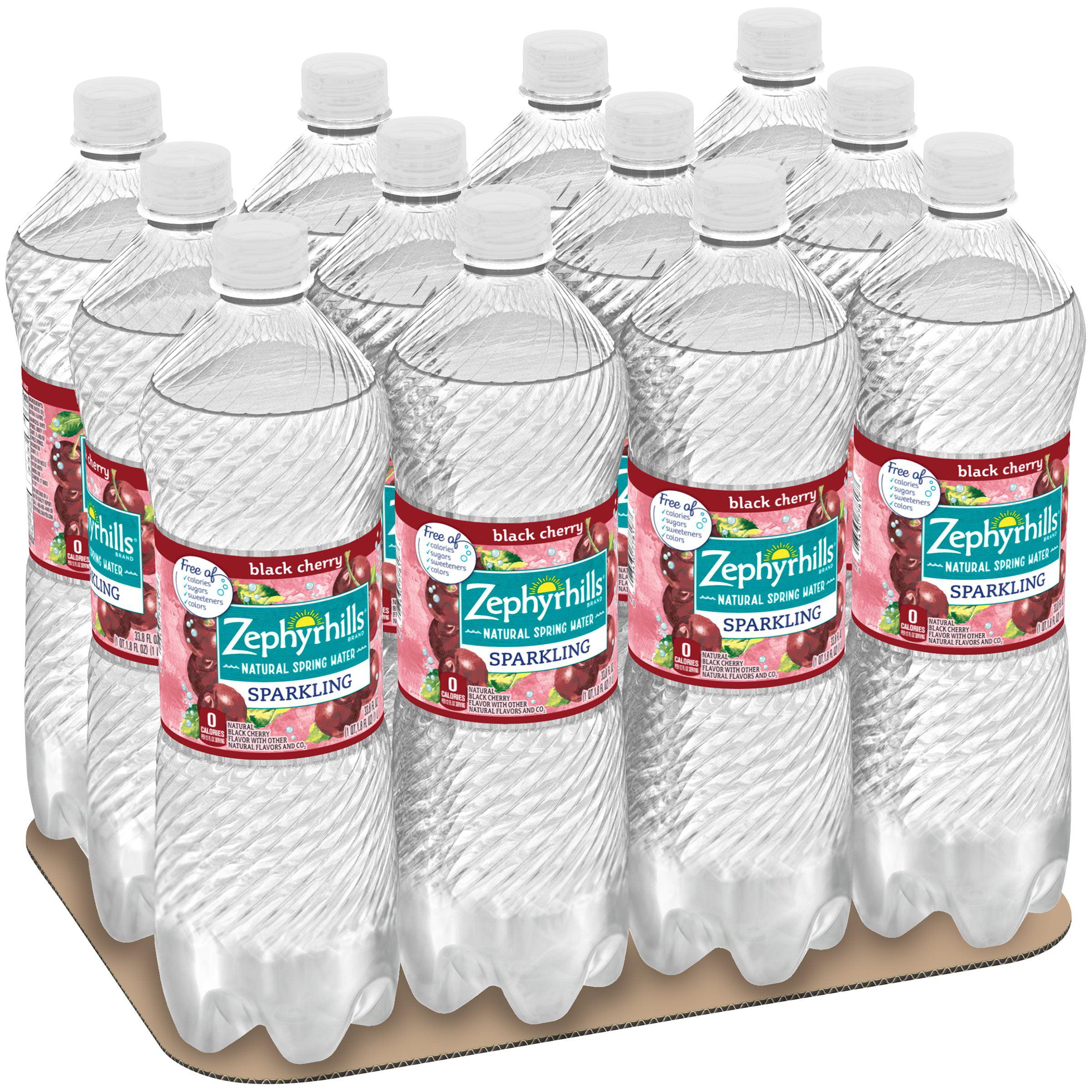 Zephyrhills Sports Bottle: Zephyrhills Sparkling Water, Black Cherry, 33.8 Oz