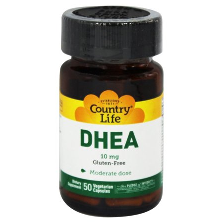 Country Life - DHEA déhydroépiandrostérone 10 mg. - 50 Vegetarian Capsules Formerly par Biochem