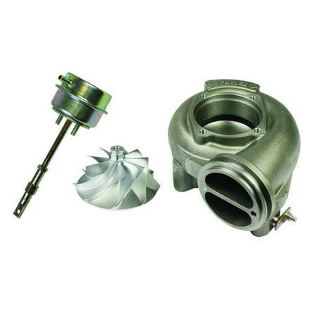 Diesel Billet (BD Diesel Billet Wheel Ultra Kit w/Waste Gate & 1.0A/R - 1999.5-2003 7.3L Ford w/ OEM)