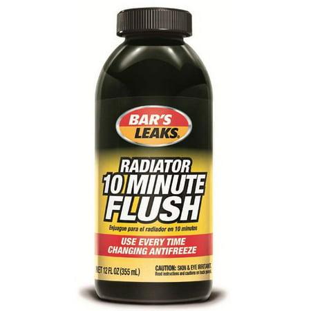 Bar's Leaks 1211 Radiator 10-Minute Flush Cooling System, 12 (The Best Radiator Flush)