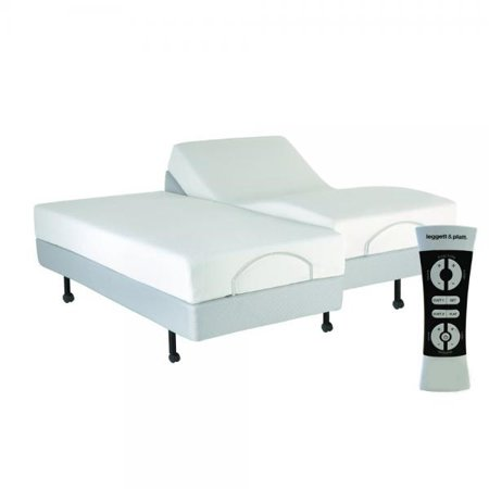 LEGGET AND PLATT Performance Adjustable Bed Base, Wireless, Massage, Wall Hugger, S-Cape, King