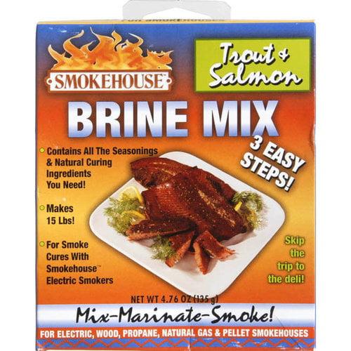 Smokehouse Trout Salmon Brine Mix by Smokehouse