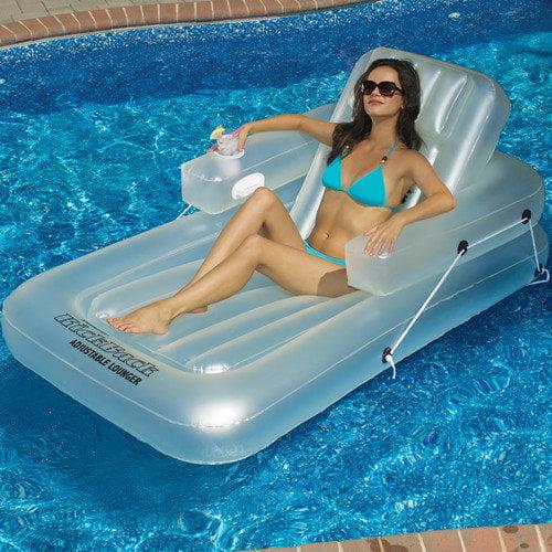 Swimline Single Adjustable Pool Lounger
