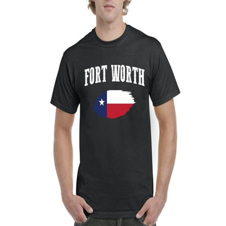 Fort Worth Texas Men's Short Sleeve T-Shirt